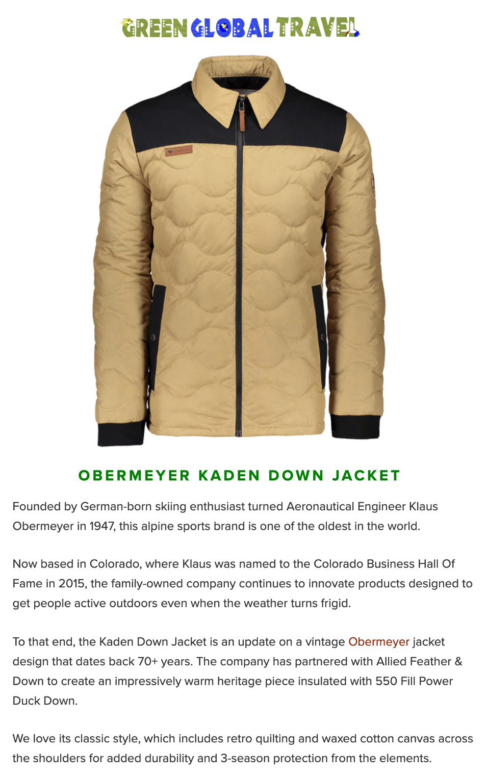 The Kaden Down Jacket