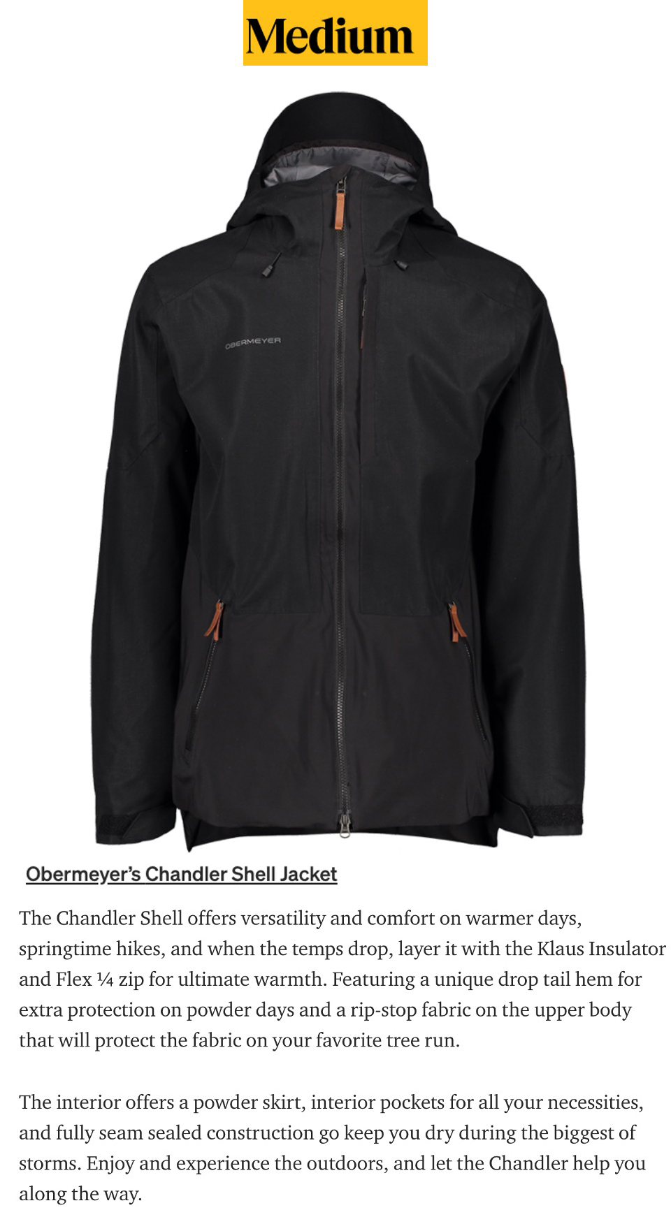 The Chandler Jacket