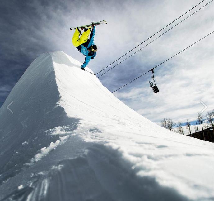 Tae Westcott Skiing