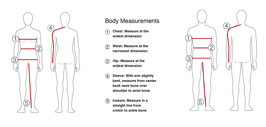 Body Measurement Guide