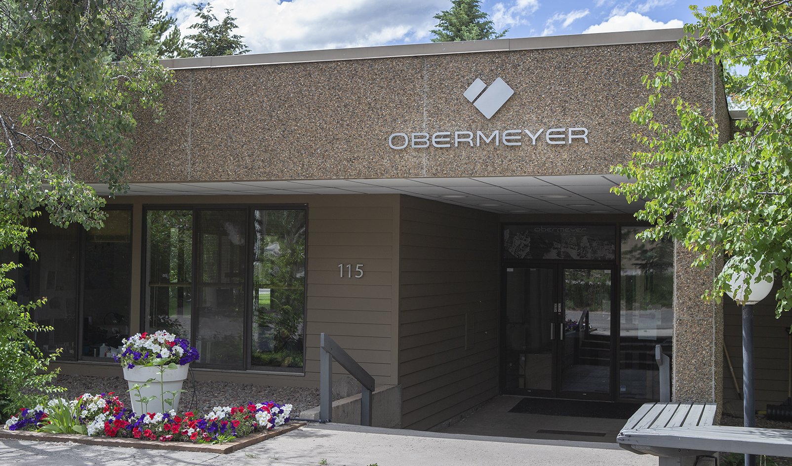 Obermeyer's Aspen home office