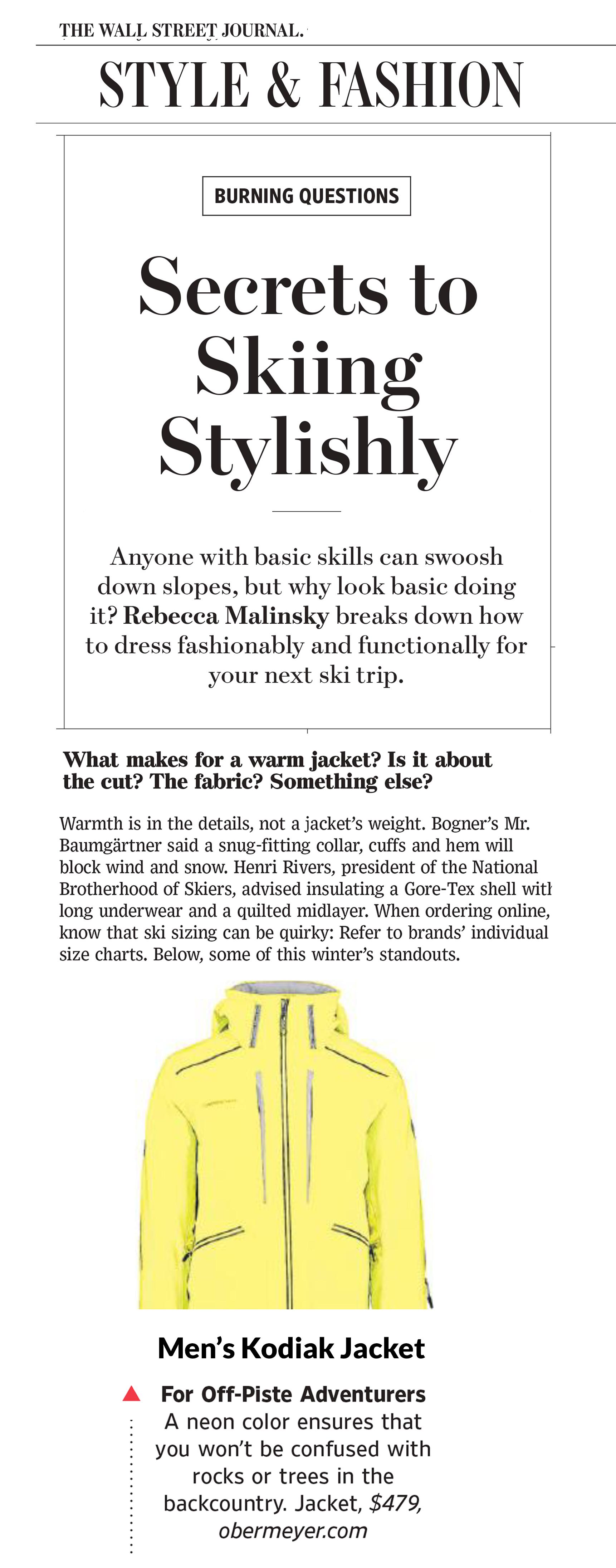 Wall Street Journal Kodiak Jacket review