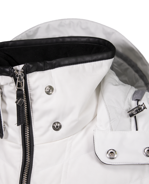 Devon Down Jacket - White, 2