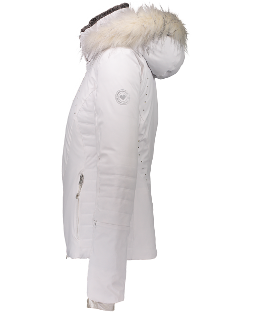 Evanna Down Jacket - White, 2