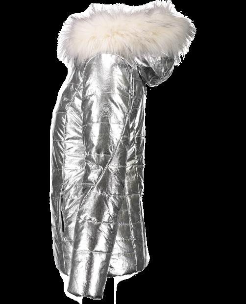 Bombshell Jacket - Silver Sheen, 2