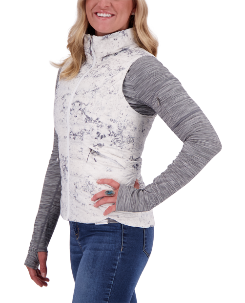 Cerre Down Vest - Frosted Fossils, XS