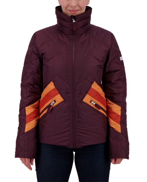 The Dusty Down Jacket - Wine-Not, XS