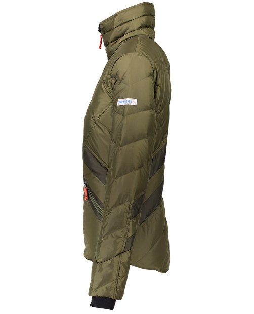 The Dusty Down Jacket - Military Time, XS