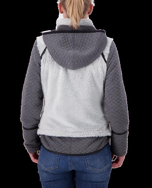 Stella Fleece Jacket - Fog, XS