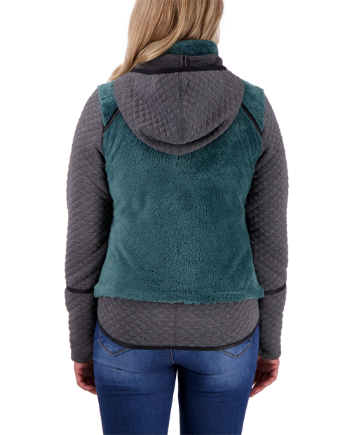 Stella Fleece Jacket - Sage, XS