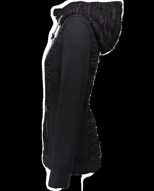 Ella Fleece Jacket - Black, XS