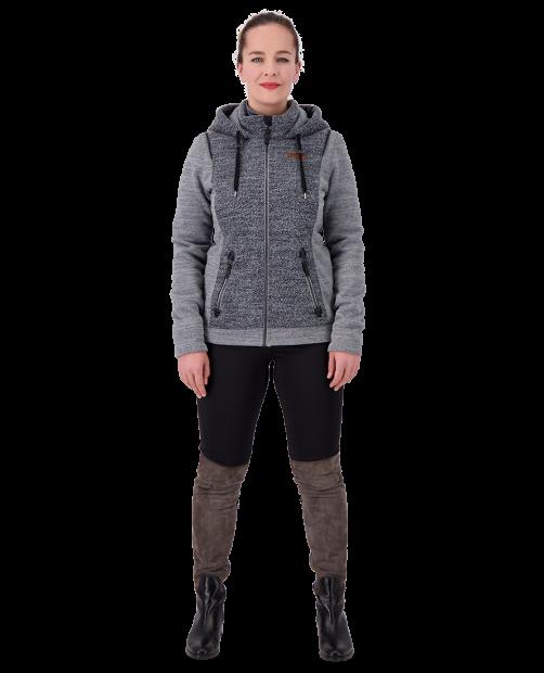 Ella Fleece Jacket - Anchor, XS