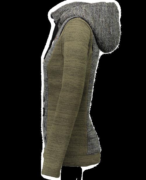 Ella Fleece Jacket - Military Time, XS