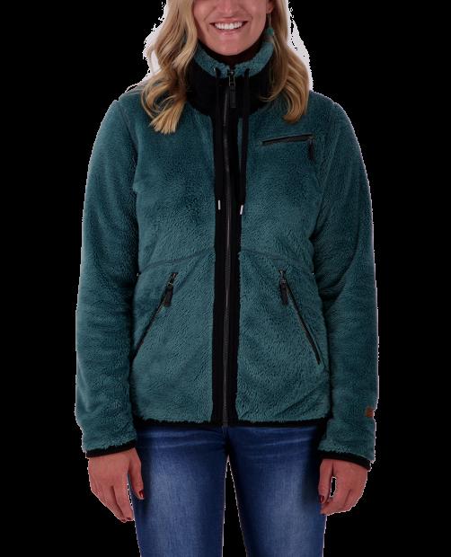 Britt Fleece Jacket - Sage, XS