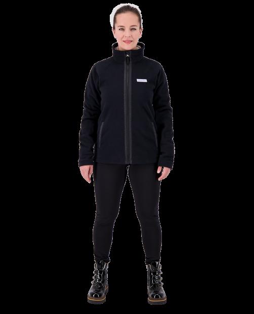 Jaden Fleece Jacket - Black, XS