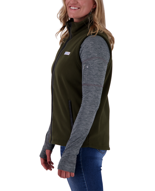 Jana Fleece Vest - Off-Duty, XS