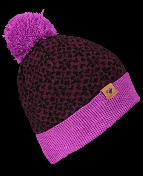 Wichita Knit Pom Hat - Violet Vibe, WOMEN