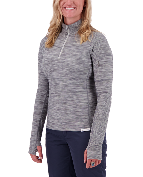 Discover 1/4 Zip Baselayer - Knightly, XS