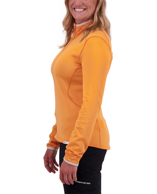 Paola Fleece Pullover - Dreamsicle, XS