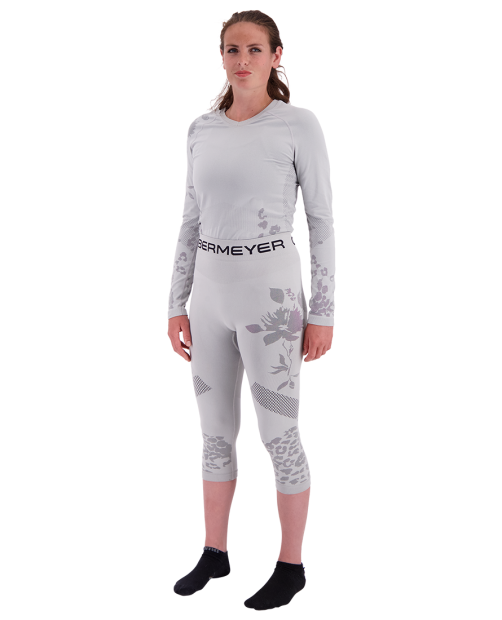 Glaze Baselayer Tight - Fog, XS