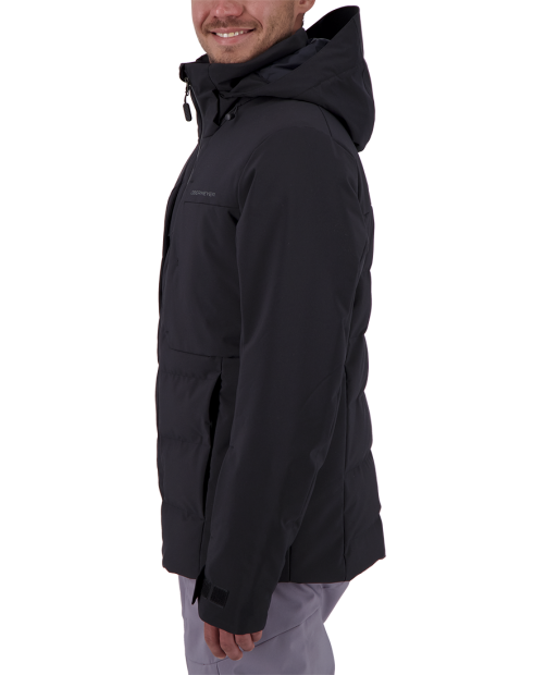 Rex Down Hybrid Jacket - Black, S