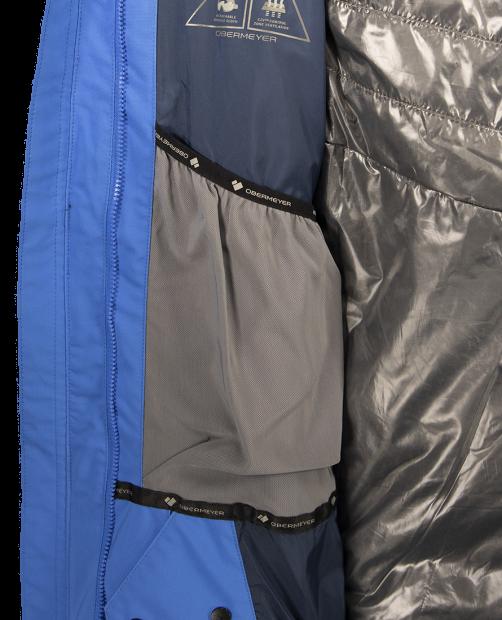 Trilogy System Jacket - Blue Vibes, XS