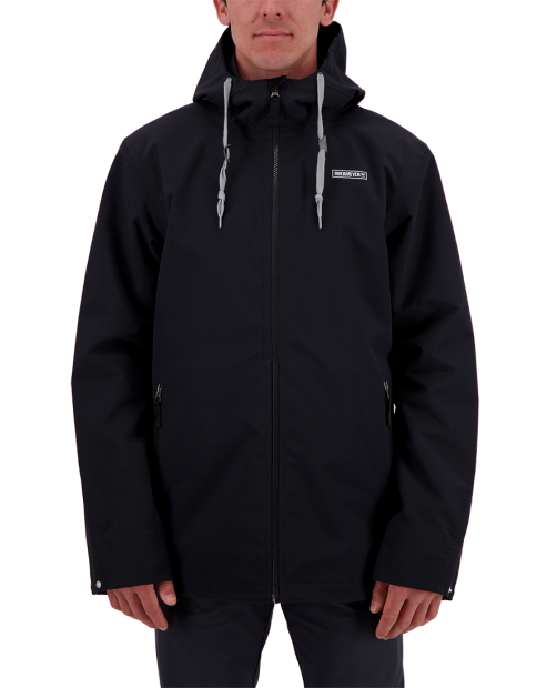 Men's No 4 Shell Jacket - Black, XS