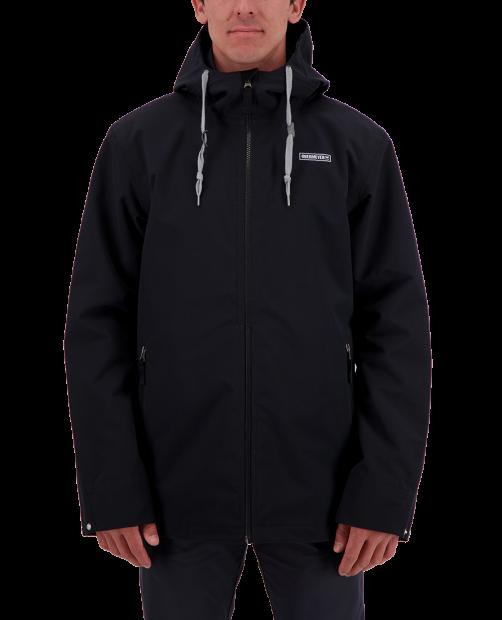 Men's No 4 Shell Jacket - Black, XS