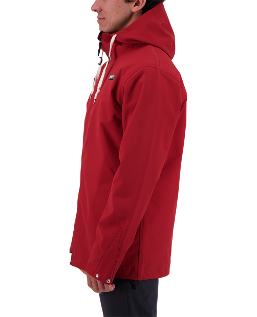 Men's No 4 Shell Jacket - Dragon Red, S