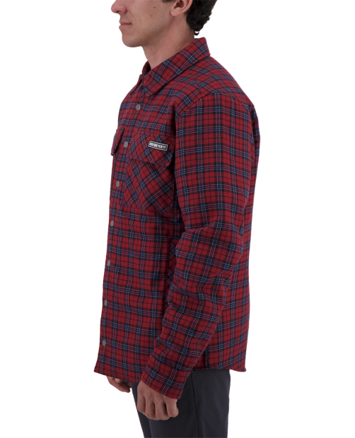 Men's Avery Flannel - Mey Plaid, S