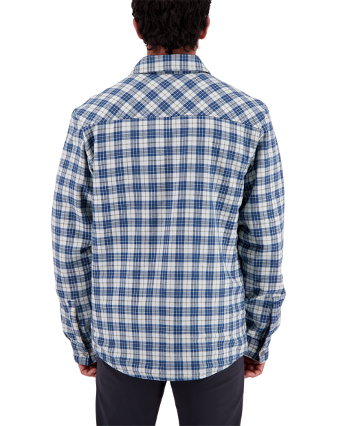 Men's Avery Flannel - Icy Mey Plaid, S