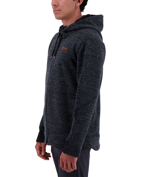 Attis Fleece Jacket - Black, S