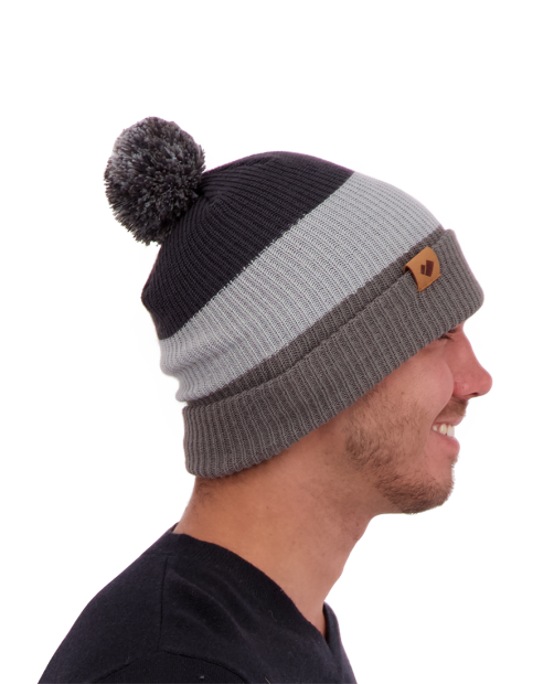Memphis Knit Pom Hat - Knightly, ONE SIZE