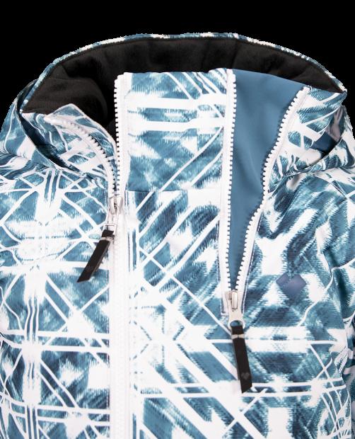 Taja Print Jacket - Southwest Blues, XS