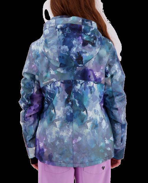 Taja Print Jacket - Watercolor Flor, XS