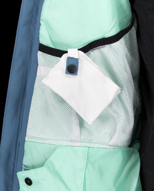 Haana Jacket - Slate The Facts, XS
