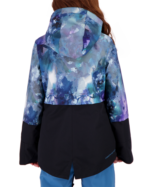 June Jacket - Watercolor Flor, S