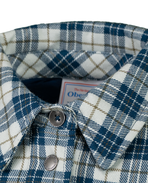 TG's Avery Flannel Jacket - Icy Mey Plaid, XS