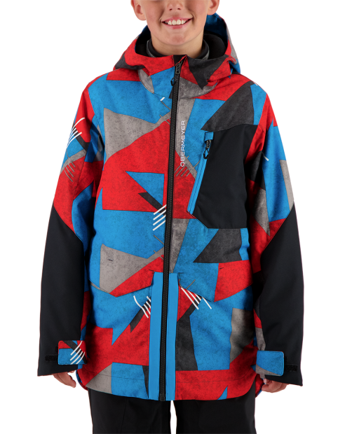Gage Jacket - Retro Graphic, S