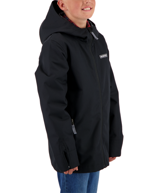 TB's NO 4 Shell Jacket - Black, XS