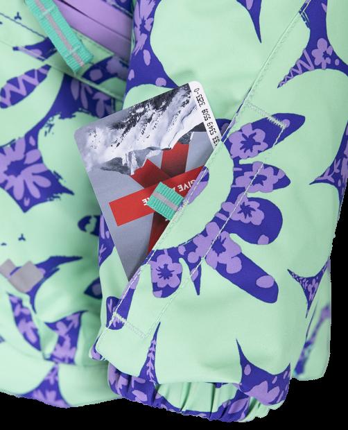 Glam Jacket - Violet Kabloom, 1