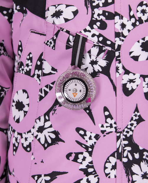 Neato Jacket - Pink Kabloom, 2