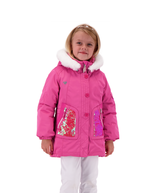 Sparkle-Girl Jacket - Pinky Promise, 2
