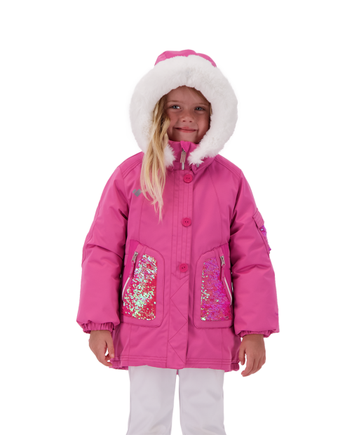Sparkle-Girl Jacket - Pinky Promise, 2