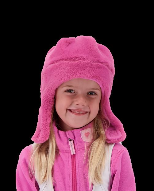 Orbit Fur Hat - Pinky Promise, 5-8