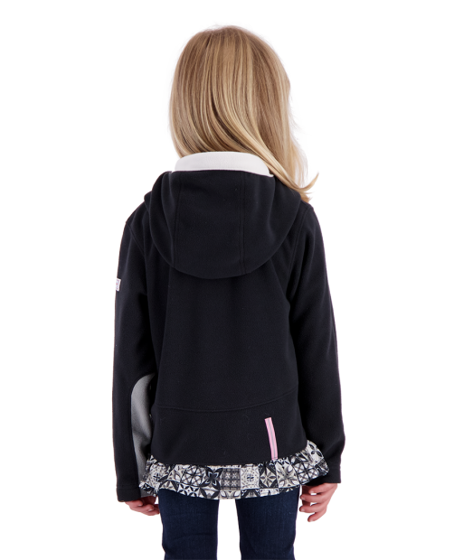 Aiya Fleece Pullover - Black, XS