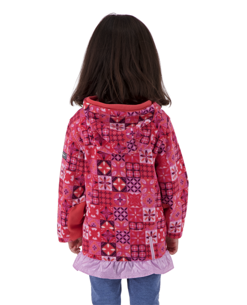 Aiya Fleece Pullover - Blushing Talave, XS