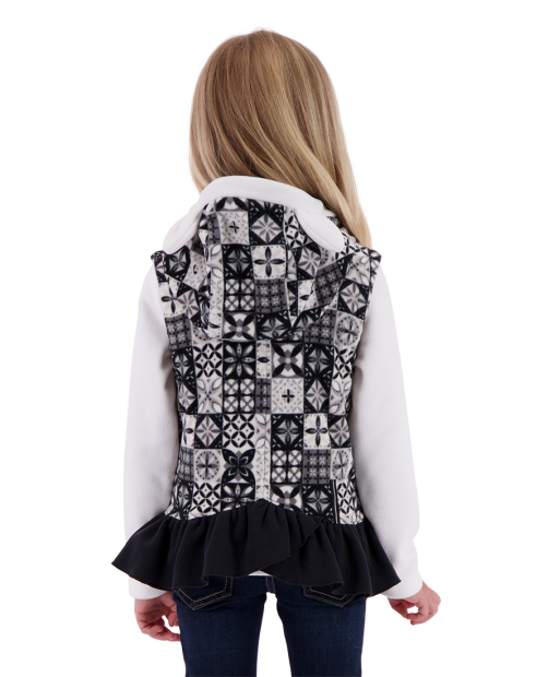 Mika Fleece Vest - Talavera Tile, XS