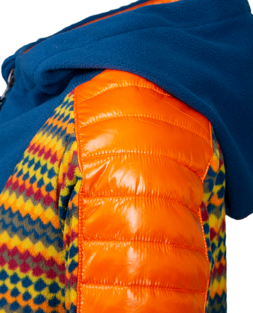 Dyno Fleece Pullover - Retro Geo, XS