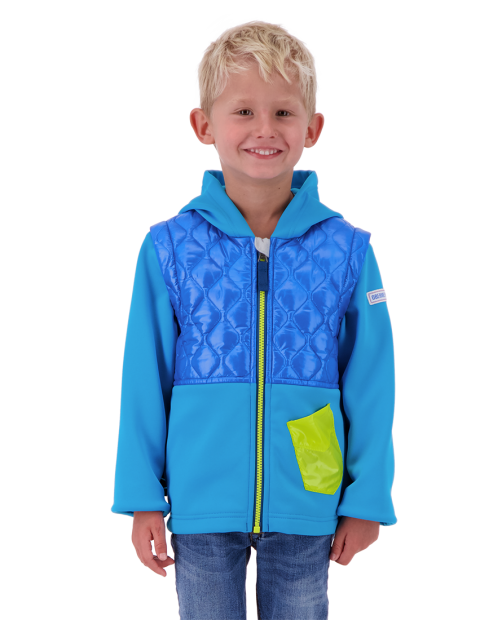 Hayden Hybrid Fleece Jacket - Bluto, XS